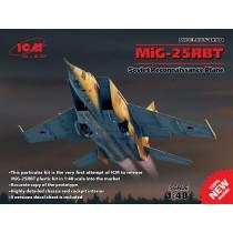 Mikoyan MiG-25RBT Soviet Reconnaissance Plane 1/48