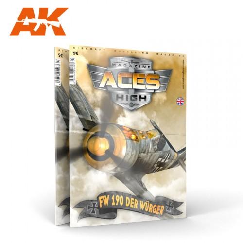 AK2914 ACES HIGH MAGAZINE NÚMERO 08 CAPTURADOS!