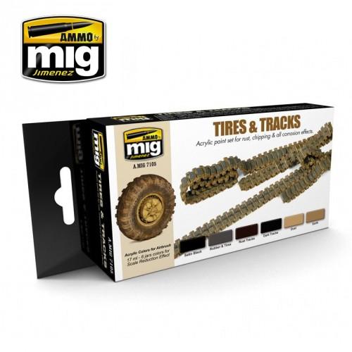Tires & tracks
