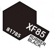 PINTURA ACRILICA XF-85, NEGRO GOMA  10ML.