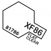 PINTURA ACRILICA XF-86, TRANSPARENTE MATE 10ML.