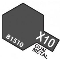 GUN METAL TAMIYA ACRILICO