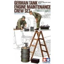 German (WWII) Tank Engine Maintenance Crew Set 1/35