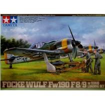 Focke-Wulf Fw190 F-89 - w/Bomb Loading Set 1/48