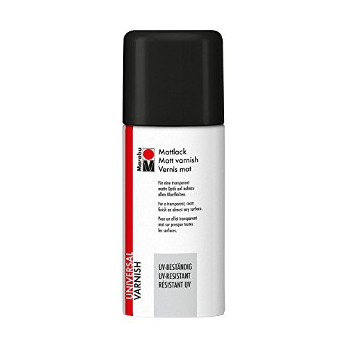 BARNIZ MATE ESPRAY UV INTEGRADO 150 ML.