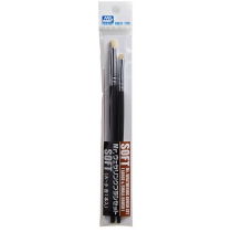 Mr. Weathering Brush Set SOFT (Large & Small)