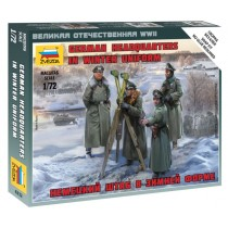 German headquarters in winter uniform 1/72