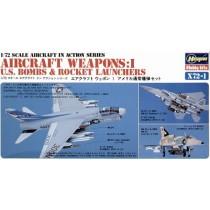 Bombs. Mk.81/Mk.82/Mk.83/Mk.84, Snake Eye, BLU-27, LAU-10/3, M-117 etc 1/72