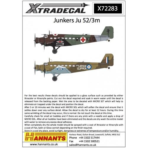 Junkers Ju-52/3m 1/72