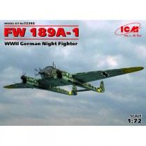 Focke-Wulf Fw-189A-1 WWII German Night Fighter 1/72