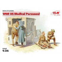 WWI US Medical Personnel 1/35