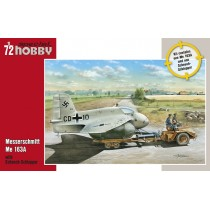 Messerschmitt Me-163A with Scheuch-Schlepper 1/72