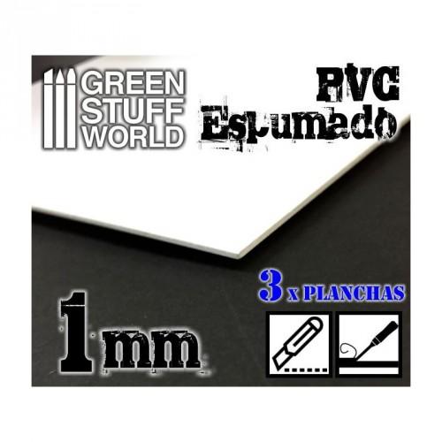 Foamed PVC 1 mm
