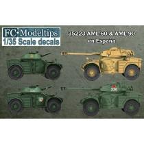 Calcas Panhard AML-60 & 90 en España 1/35