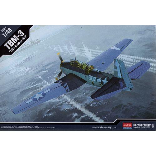Grumman TBM-3 Avenger USS Bunker Hill (Accurate Miniatures)  1/48