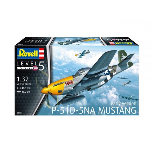 North-American P-51D Mustang New Tool!