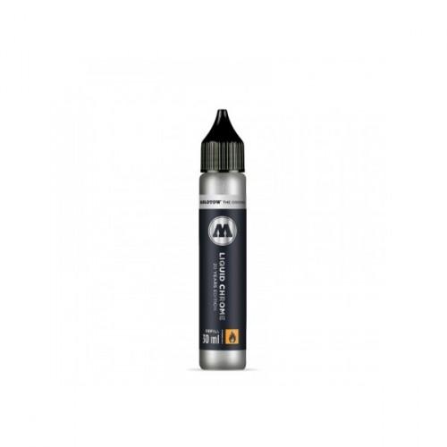 TINTA LIQUID CHROME MOLOTOW 30 ML (RECARGA)