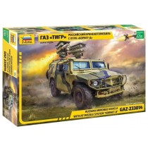 "Russian Armored Vehicle GAZ-233014 ""Tiger"" with ATGM Kornet-D 1/35"