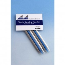 LBION ALOYS PLASTIC SANDING NEEDLES ASSORTED