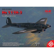 Heinkel He-111H-3 WWII German Bomber (100% new moulds) 1/48