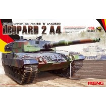 Leopard MBT 2 A4 German Main Battle Tank  1/35