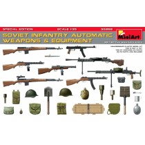 SOVIET INFANTRY AUTOMATIC WEAPONS & EQUIPMENT 1/35