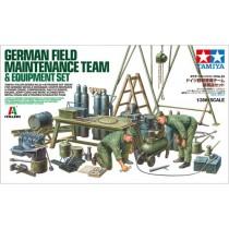 German Field Maintenance Team 1/35