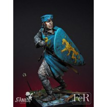 French Knight Albigensian Crusade, 1209 75 MM.
