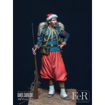 Zouave of the Imperial Guard, Crimea, 1855 54MM.