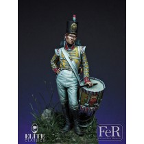 Drummer Boy, 77th East Middlesex, 1808 54MM.