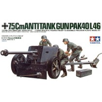 7.5cm Pak-40 (L46) with crew figures 1/35