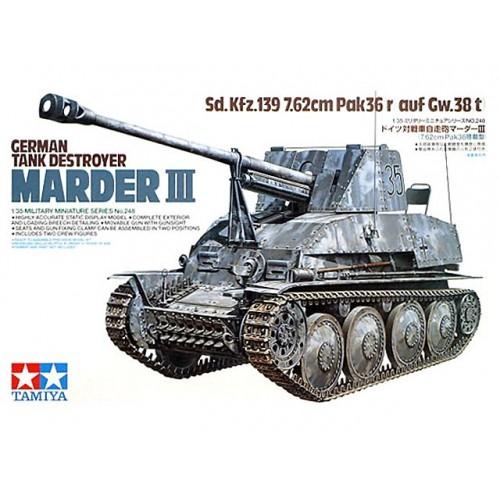 Marder III Sd.Kfz.139 7.62cm PaK(r) auf Gw.38(t)  1/35