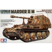 Marder III Ausf.M Sd.Kfz.138 7.5cm PaK-40/3 auf Gw.38(t)  1/35