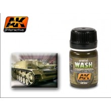 DARK YELLOW WASH 35ML.