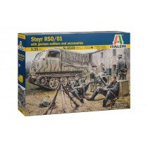 Steyr RSO/01 with German Soldiers 1/35