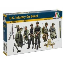 U.S. Infantry on Board 10 WWII figures 1/35