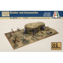 WWII Bunkers and Accessories  1/72