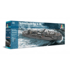 Schnellboot S-38 FULLY UPGRADED MOULDS -1/35
