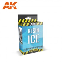 RESIN ICE 2 COMPONENTS EPOXY RESIN 420ML.