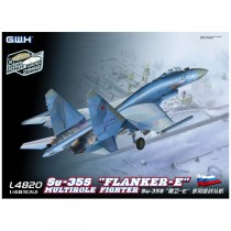 "Su-35S ""Flanker-E"" Multirole Fighter First Version 1/48"