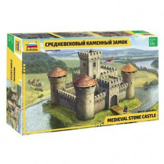 Medieval Stone Castle 1/72