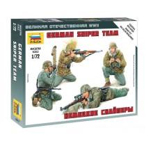 German Sniper Team 1/72