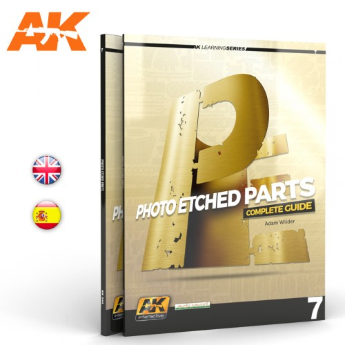 AK244 LEARNING SERIES Nº7: PHOTOETCH PARTS, en Español