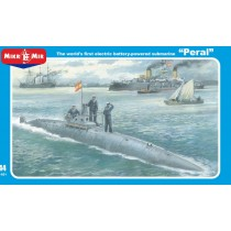 'Peral' The worlds first electric powered submarine. 1/144