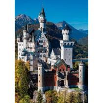 Puzzle Jumbo Castillo Neuschwanstein de 1000 Piezas