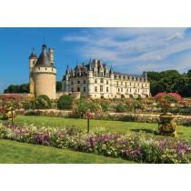 Puzzle Jumbo Castillo en el Loira de 1000 Piezas