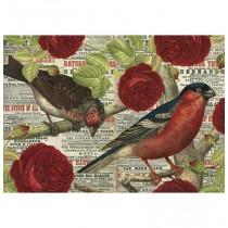 500 - Los Pájaros Aman las Flores