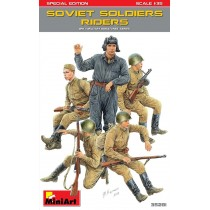 Soviet Soldiers Riders Special Edition 1/35