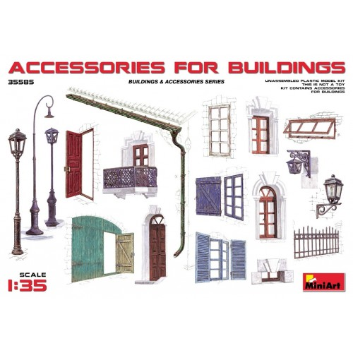 Accessories for Buildings  1/35