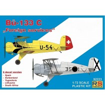 Bucker Bu-133C, incluye 2 kits 'Foreign services' 1/72